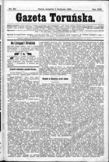 Gazeta Toruńska 1896, R. 30 nr 257