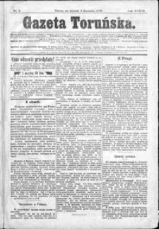 Gazeta Toruńska 1899, R. 33 nr 2