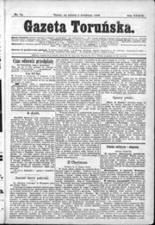 Gazeta Toruńska 1899, R. 33 nr 79