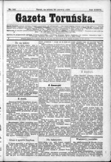 Gazeta Toruńska 1899, R. 33 nr 142