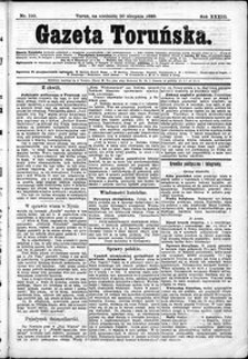 Gazeta Toruńska 1899, R. 33 nr 190