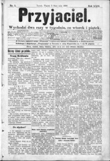 Przyjaciel : pismo dla ludu 1896 nr 1
