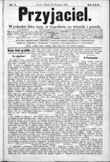 Przyjaciel : pismo dla ludu 1896 nr 3