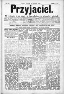 Przyjaciel : pismo dla ludu 1896 nr 4