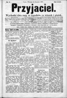 Przyjaciel : pismo dla ludu 1896 nr 6