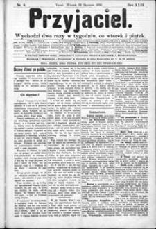Przyjaciel : pismo dla ludu 1896 nr 8