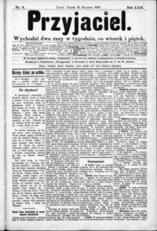 Przyjaciel : pismo dla ludu 1896 nr 9