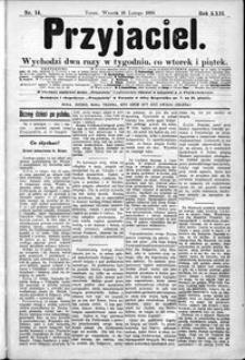 Przyjaciel : pismo dla ludu 1896 nr 14