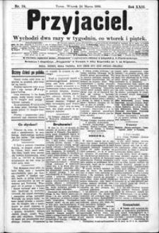 Przyjaciel : pismo dla ludu 1896 nr 24