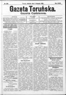 Gazeta Toruńska 1900, R. 34 nr 260