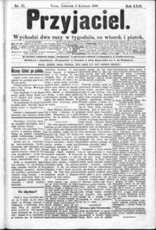 Przyjaciel : pismo dla ludu 1896 nr 27