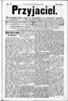 Przyjaciel : pismo dla ludu 1896 nr 29