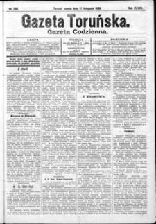 Gazeta Toruńska 1900, R. 34 nr 265