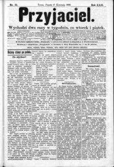 Przyjaciel : pismo dla ludu 1896 nr 31