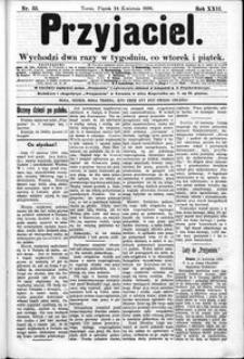 Przyjaciel : pismo dla ludu 1896 nr 33