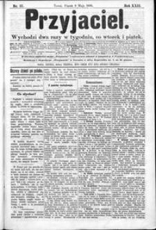 Przyjaciel : pismo dla ludu 1896 nr 37