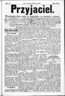 Przyjaciel : pismo dla ludu 1896 nr 41