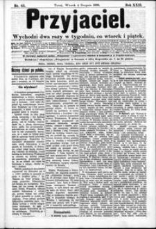 Przyjaciel : pismo dla ludu 1896 nr 62