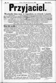 Przyjaciel : pismo dla ludu 1896 nr 64