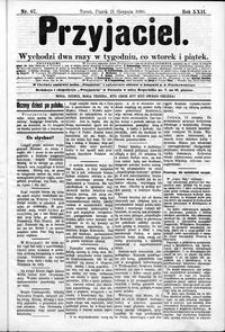 Przyjaciel : pismo dla ludu 1896 nr 67