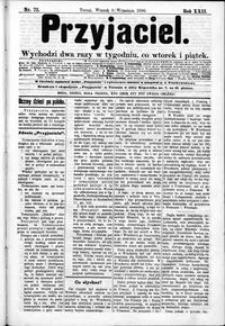 Przyjaciel : pismo dla ludu 1896 nr 72