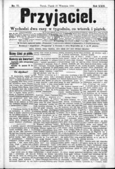 Przyjaciel : pismo dla ludu 1896 nr 77