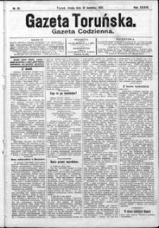 Gazeta Toruńska 1901, R. 35 nr 81