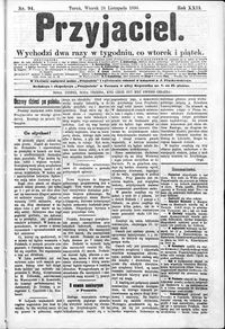 Przyjaciel : pismo dla ludu 1896 nr 94