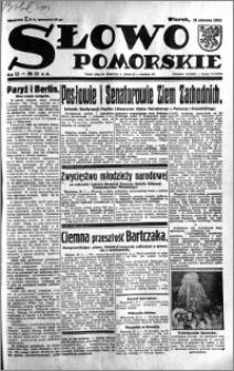 Słowo Pomorskie 1933.01.31 R.13 nr 25