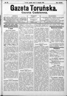 Gazeta Toruńska 1901, R. 35 nr 181
