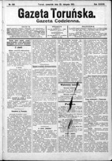 Gazeta Toruńska 1901, R. 35 nr 198