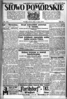 Słowo Pomorskie 1924.07.05 R.4 nr 154