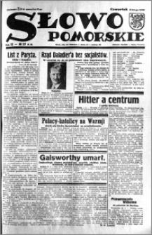 Słowo Pomorskie 1933.02.02 R.13 nr 27