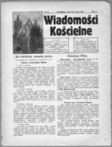 Wiadomości Kościelne 1930, R. 1, nr 2