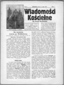 Wiadomości Kościelne dla Parafji Brodnickiej 1930, R. 1, nr 8