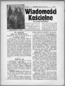 Wiadomości Kościelne dla Parafji Brodnickiej 1930, R. 1, nr 10
