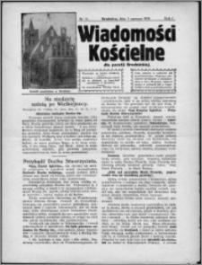 Wiadomości Kościelne dla Parafji Brodnickiej 1930, R. 1, nr 11