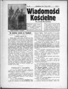 Wiadomości Kościelne 1930, R. 1, nr 16