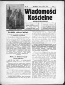 Wiadomości Kościelne 1930, R. 1, nr 18