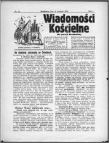 Wiadomości Kościelne 1930, R. 1, nr 26