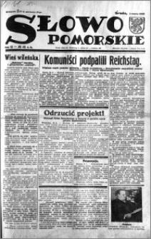 Słowo Pomorskie 1933.03.01 R.13 nr 49