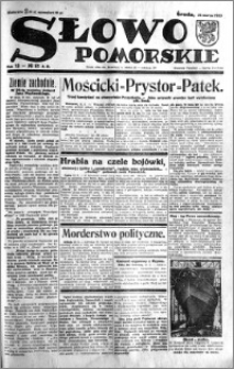 Słowo Pomorskie 1933.03.15 R.13 nr 61