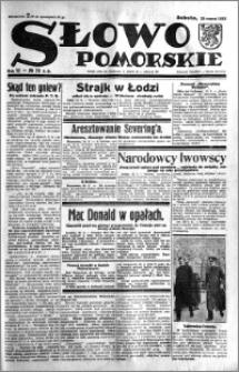 Słowo Pomorskie 1933.03.25 R.13 nr 70
