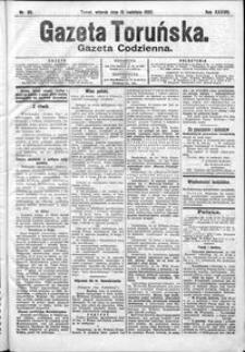 Gazeta Toruńska 1902, R. 38 nr 85