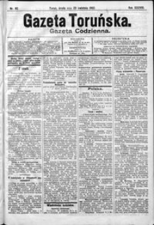 Gazeta Toruńska 1902, R. 38 nr 92