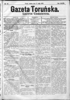 Gazeta Toruńska 1902, R. 38 nr 113