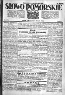 Słowo Pomorskie 1924.08.02 R.4 nr 178
