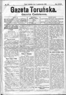 Gazeta Toruńska 1902, R. 38 nr 232 + dodatek
