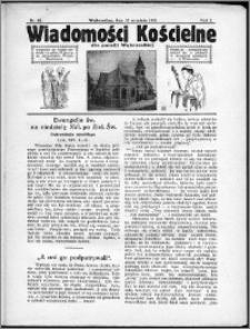 Wiadomości Kościelne dla Parafji Wąbrzeskiej 1930-1931, R.2, nr 42