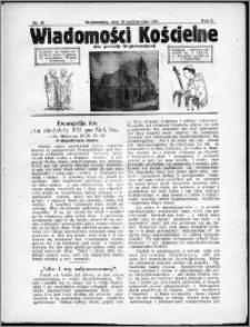 Wiadomości Kościelne dla Parafji Wąbrzeskiej 1930-1931, R.2, nr 47